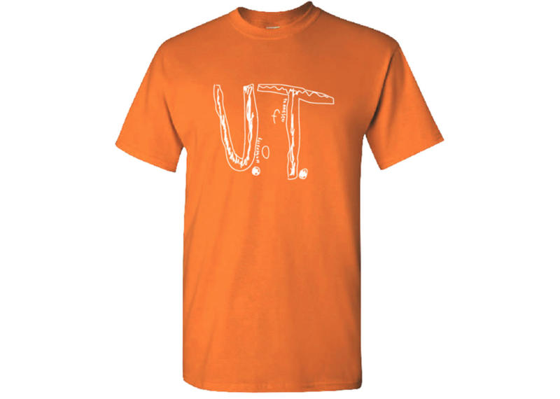 The University of Tennessee took the boy's design and make it an official school T-shirt. Source: Twitter / @UTVolShop