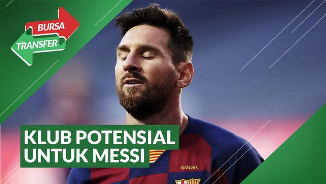 VIDEO Bursa Transfer: 6 Klub Potensial yang Bisa Dapatkan Lionel Messi, Termasuk Manchester United