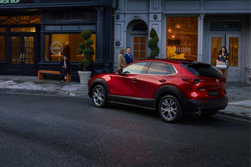 The CX-30 combines the striking design of an SUV with Mazda's soul of motion design to provide elegant visuals on its vehicle. — Picture courtesy of Mazda Malaysia