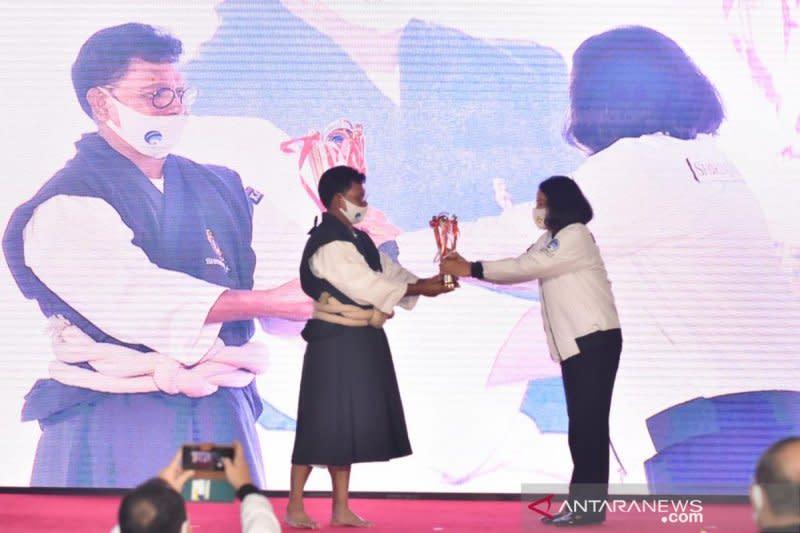 Bali juara umum kejurnas virtual shorinji kempo Piala Menkominfo 2020
