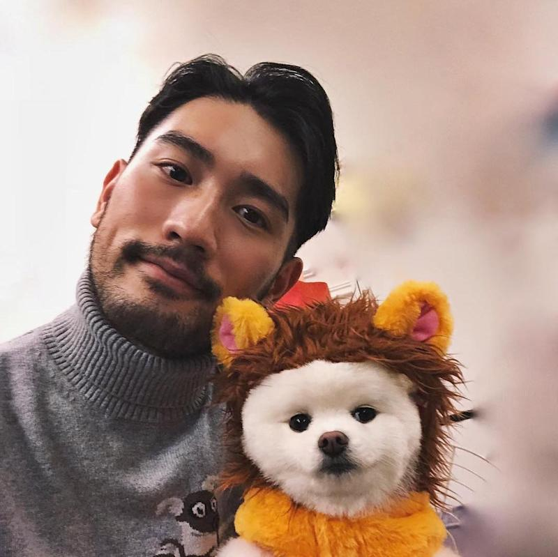 Fans have been blaming the model's death on the lack of safety precautions during 'Chase Me'. — Picture via Instagram/godfreygao