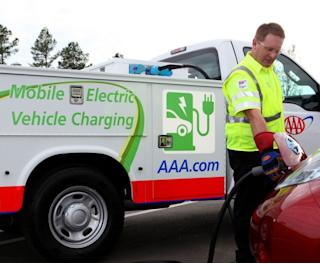Range Anxiety Reducer: AAA Unveils Mobile EV Charging Trucks
