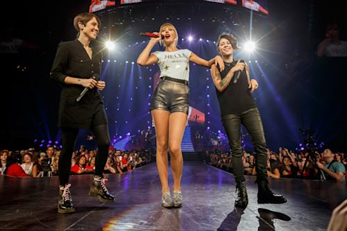 Behind Tegan and Sara's Big Night With Taylor Swift