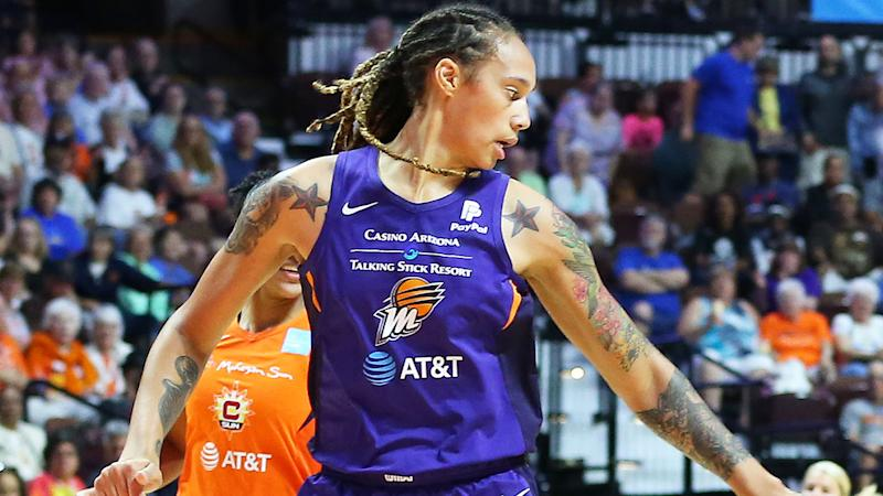 Brittney Griner in action for the Suns. (Photo by M. Anthony Nesmith/Icon Sportswire via Getty Images)
