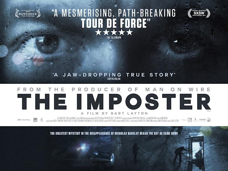 A poster for The Imposter. (Film4)