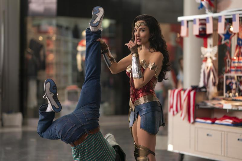 Gal Gadot as the title character in 'Wonder Woman 1984'. (Credit: Warner Bros)