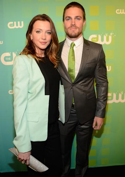 The CW 's 2012 Upfront - Katie Cassidy and Stephen Amell