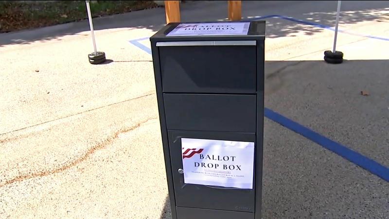 US Election 2020 California GOP Ballot Boxes