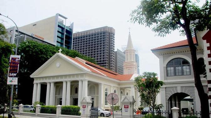 Gereja Katolik Katedral di Singapura, Cathedral Of The Good Shepherd.