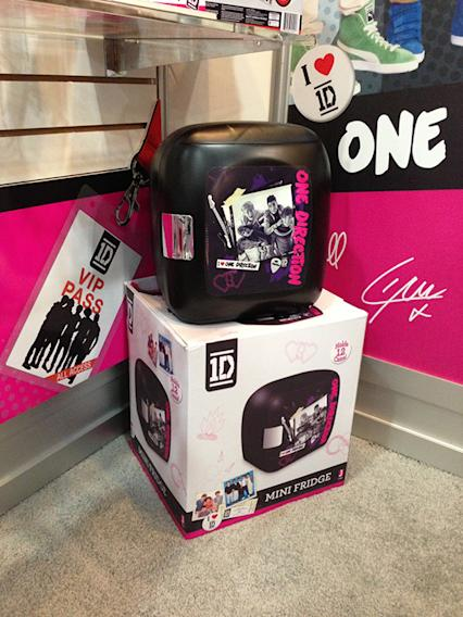 One Direction Mini-Fridge