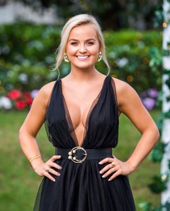 Bachelor contestant Elly Miles. Photo: Channel Ten