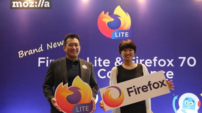 Mozilla memperkenalkan Mozilla Firefox Lite dan Mozilla Firefox Browser terbaru   Sumber foto: Document/Mozilla Firefox.