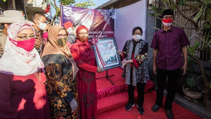 Rumah kelahiran Bung Karno di Surabaya, Jawa Timur (Foto: Liputan6.com/Dian Kurniawan)