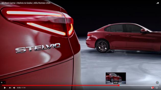 兩部車、一片冰面無特效!Alfa Romeo的雙車滑冰果然華麗又精彩!