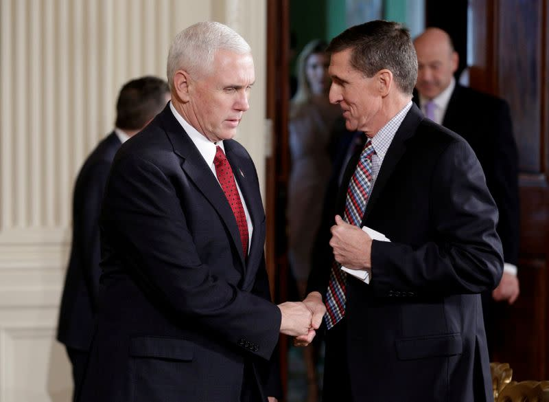 Pence says he would welcome Trump ex-adviser Flynn's return - Axios
