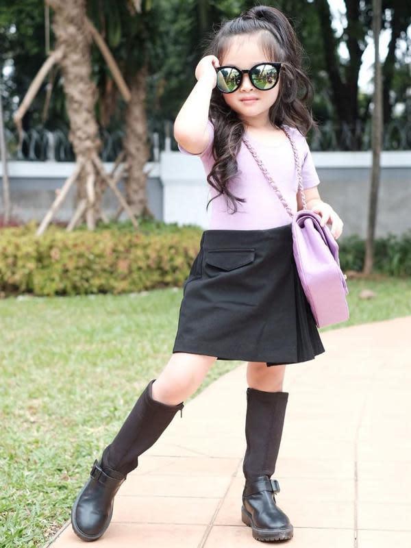 Penampilan 6 Anak Selebriti Ini Bak ABG. (Sumber: Instagram.com/ruben_onsu)
