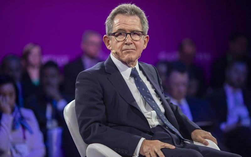 Lord Browne resigned as UK chairman of Huawei as it faced a Government ban on involvement in Britain's 5G infrastructure - F Carter Smith/Bloomberg