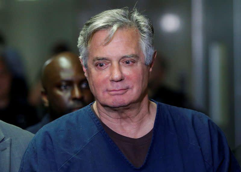 Trump ex-campaign aide Manafort leaves prison for home amid coronavirus
