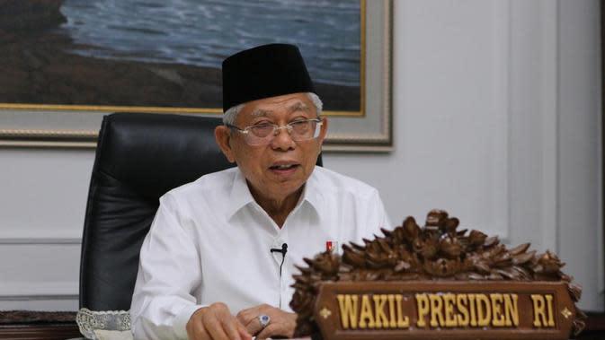 Ma'ruf Amin Sebut Keuangan Syariah Bisa Bangkitkan Ekonomi Nasional