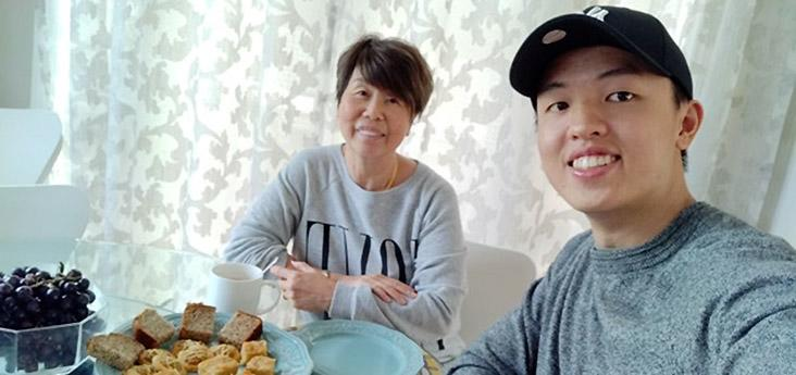 Esther Wee welcomed John Ho, a fellow Malaysian, who is stranded in New Zealand during the current nationwide lockdown, to her Auckland home. — Pictures courtesy of John Ho