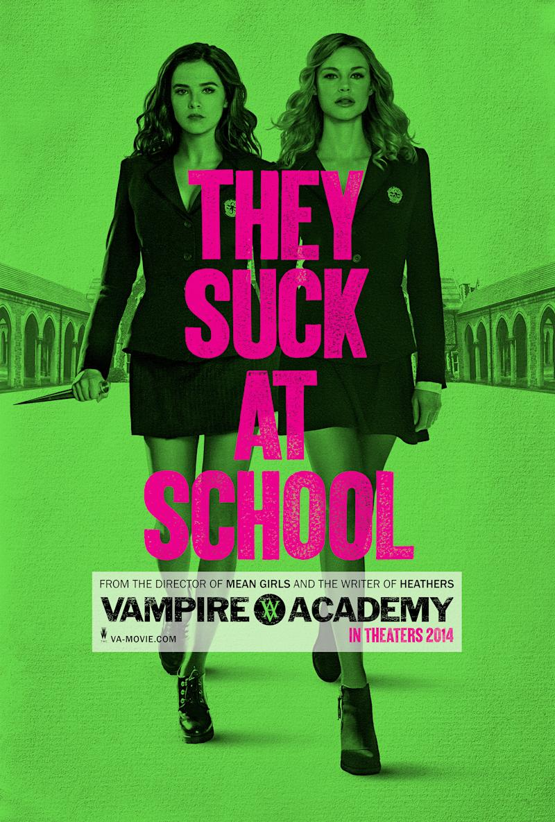 You Did It! Exclusive New 'Vampire Academy' Poster Unlocked
