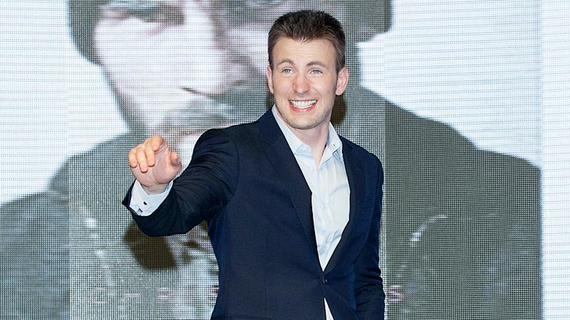 Chris Evans Takes on First Directing Job With '1:30 Train'