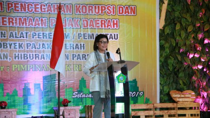 Wakil Ketua KPK RI, Basaria Panjaitan (Foto: Liputan6.com/Dian Kurniawan)