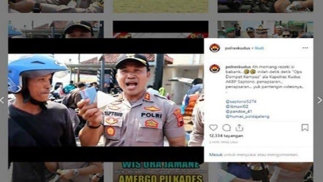Di Kudus Ada Operasi Dompet Kempes, Sedang Viral di Media Sosial