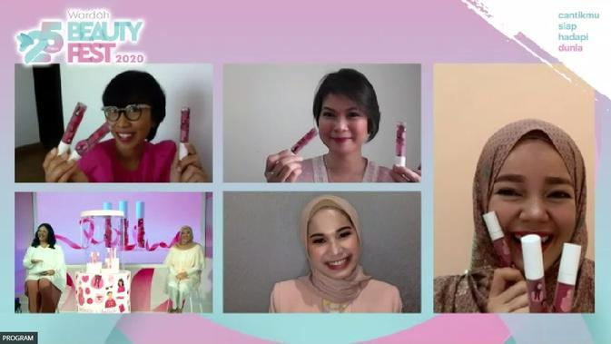 Peluncuran Wardah Exclusive Matte Lip Cream x Ayang Cempaka (dok. Wardah)