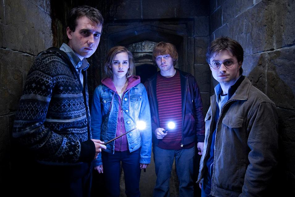 Harry Potter and the Deathly Hallows Part 2 Stills Warner Bros. pictures 2011 Matthew Lewis Emma Watson Rupert Grint Daniel Radcliffe