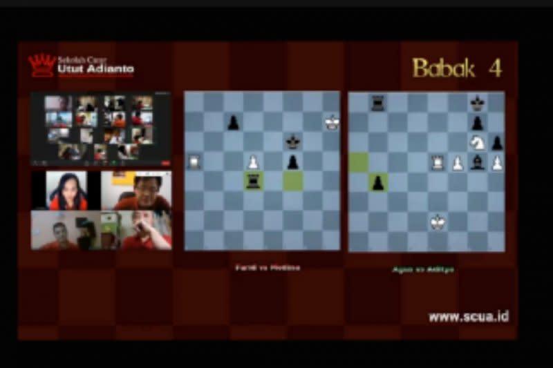 Medina kalah dari Farid pada catur online SCUA