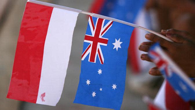 Ilustrasi hubungan Indonesia-Australia (Via: politik.kompasiana.com)