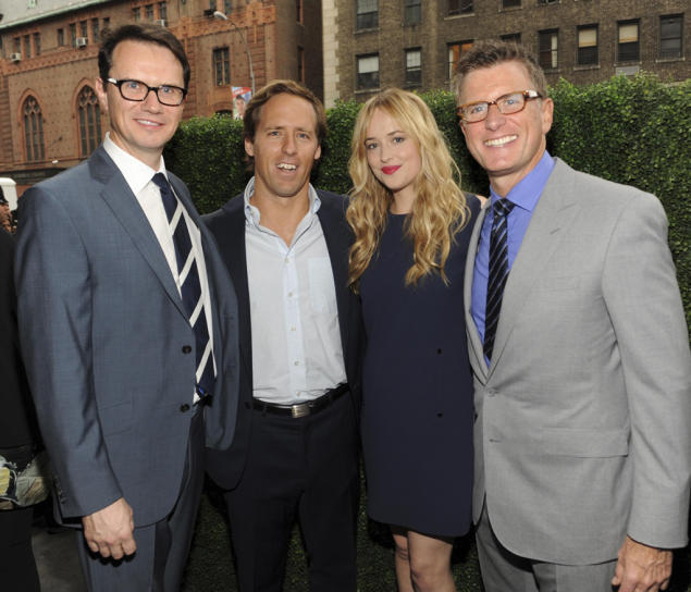 Peter Rice, Nat Faxon, Dakota Johnson and Kevin Reilly