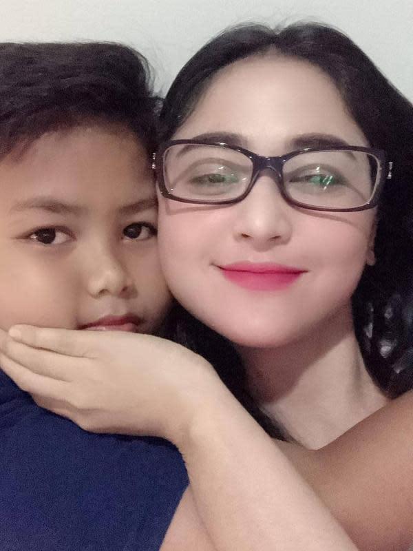 Felice Gabriel Anak Angkat Dewi Perssik (Sumber: Instagram//felicegabriel9_real)