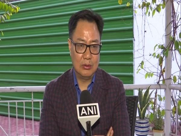 Minister for Youth Affairs and Sports Kiren Rijiju