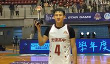 陳將双獲HBL明星賽MVP (圖)
