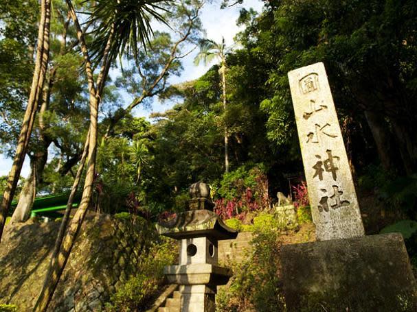 圓山水神社步道