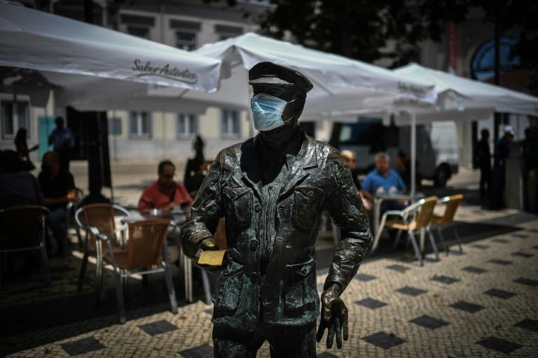 Portugal was also forced to impose new restrictions in its capital Lisbon this week