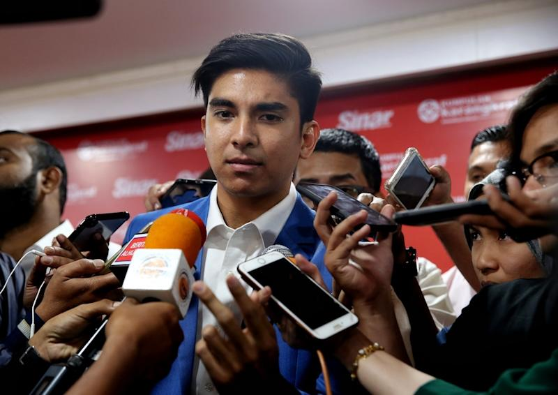 Earlier today, Syed Saddiq said action will be taken against the unidentified individual who allegedly demanded commission for funds allocated to Chinese vernacular schools in Muar. — Picture by Choo Choy May
