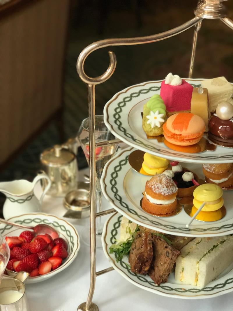 The Milestone offers one of London's poshest afternoon teas. Photo: Yahoo Lifestyle