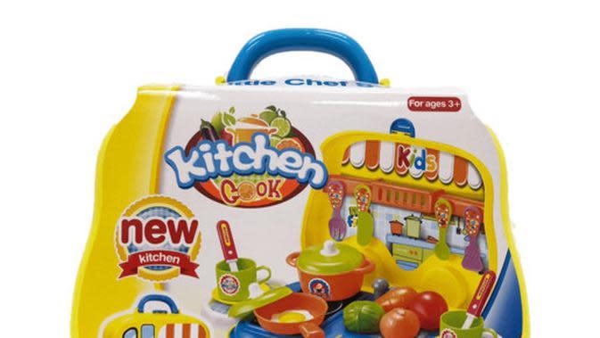Peralatan dapur mainan Addo