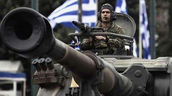 VIVA Militer: Pasukan Angkatan Bersenjata Hellenic Yunani (HAF)
