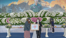 F-5E飛官羅尚樺公祭 蔡英文頒褒揚令喊「你的任務結束了」