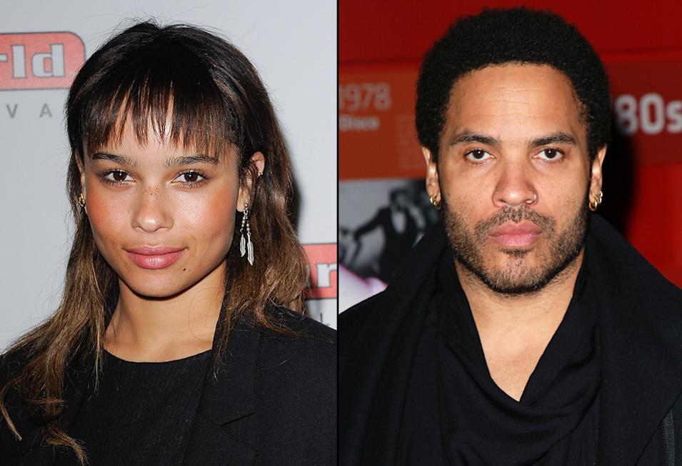 Zoe Kravitz, Lenny Kravitz, Actors with Musician Parents