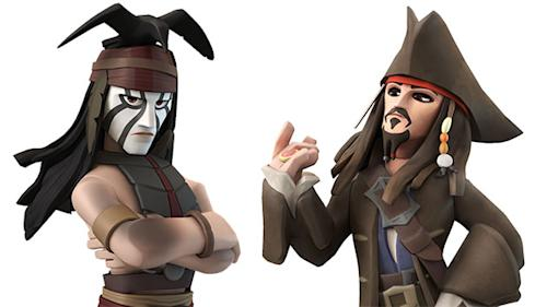 A Little Depp'll Do Ya! See Tonto and Jack Sparrow Sniff Each Other Out