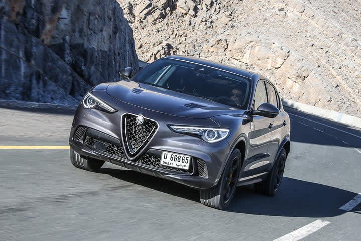 Alfa Romeo Stelvio Quadrifoglio silver