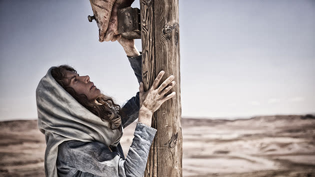'The Bible' Crucifixion Scenes Brought 48 Snakes and a Life-Changing Experience for Diogo Morgado