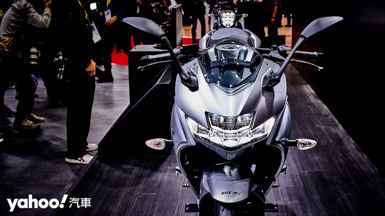 【東京車展】印製雙脇差駕到!Suzuki逆輸入Gixxer 250雙車型正式發表!