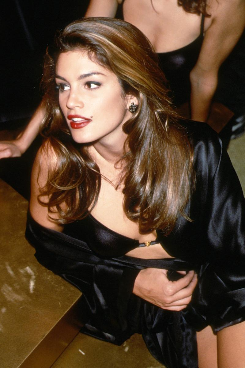 Cindy Crawford in the 1990's