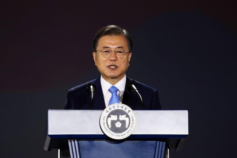 South Korea's Moon proposes regional initiative to battle COVID-19, engage North Korea